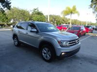 2018 VW ATLAS V6 SE FWD SUV with Automatic