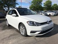 2018 Volkswagen Golf TSI SE 4-Door FWD 6-Speed