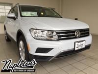 2018 Volkswagen Tiguan in Silver, AUX CONNECTION,