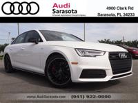 Audi Certified..Wow this Very Low Mileage A4 Sedan