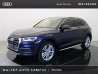 2018 Audi Q5 2.0T located at Audi Wichita. Original