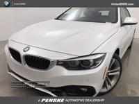 BMW Certified, LOW MILES - 6,582! 430i trim, Mineral