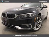 BMW Certified, CARFAX 1-Owner, LOW MILES - 8,583! 430i