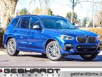 X3 M40i, 8-Speed Automatic, and Phytonic Blue Metallic.
