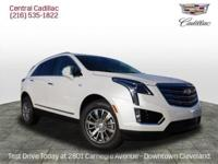 Crystal White 2018 Cadillac XT5 Luxury AWD 8-Speed
