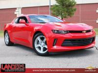 Red Hot 2018 Chevrolet Camaro 1LT RWD 8-Speed Automatic