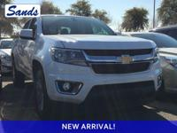 CARFAX One-Owner. Summit White 2018 Chevrolet Colorado