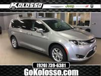 2018 Chrysler Pacifica Billet Silver Metallic Touring L