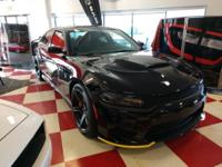 Pitch Black Clearcoat 2018 Dodge Charger SRT Hellcat