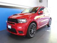 CARFAX One-Owner. Clean CARFAX. Red 2018 Dodge Durango