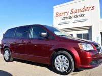2018 Dodge Grand Caravan SE 4D Wagon FWD Red 3.6L V6