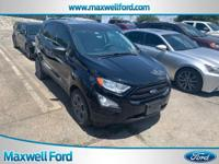 This 2018 Ford EcoSport S is proudly offered by Maxwell
