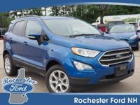 New Arrival! This 2018 Ford EcoSport SE, has a great