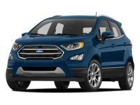 This 2018 Ford EcoSport SE has an exterior color of