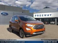 Canyon Ridge Metallic 2018 Ford EcoSport Titanium 4WD