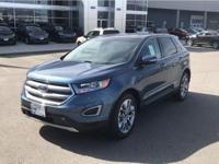 This 2018 Ford Edge has a 3.5 liter V6 Cylinder Engine