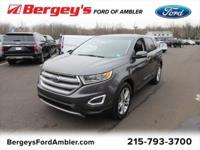 Certified. Magnetic 2018 Ford Edge Titanium AWD 6-Speed