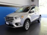 CARFAX One-Owner. Clean CARFAX. Silver 2018 Ford Escape