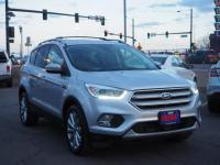 Ingot Silver Metallic 2018 Ford Escape Titanium 4WD