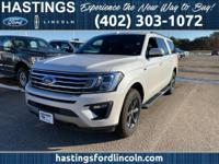 White 2018 Ford Expedition Max XLT Recent Arrival!