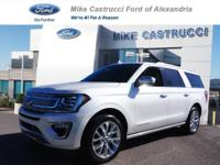 Certified. White Platinum Metallic Tri-Coat 2018 Ford