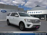 Oxford White 2018 Ford Expedition Max Limited 4WD
