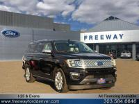 Shadow Black 2018 Ford Expedition Max Platinum 4WD