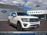 White Platinum Metallic Tri-Coat 2018 Ford Expedition