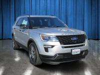 This 2018 Ford Explorer Sport has an exterior color of