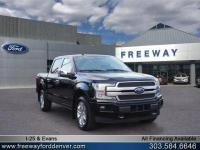 Shadow Black 2018 Ford F-150 Platinum 4WD 10-Speed