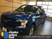 New Price! Lightning Blue 2018 Ford F-150 Lariat 4WD