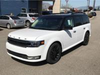 This 2018 Ford Flex has a 3.5 liter V6 Cylinder Engine