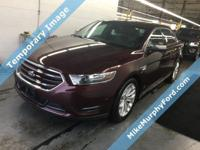 CARFAX One-Owner. Clean CARFAX. Burgundy 2018 Ford