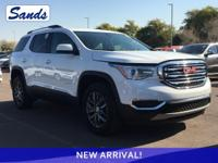 CARFAX One-Owner. Clean CARFAX. Summit White 2018 GMC