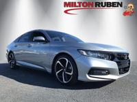 This 2018 Honda Accord Sedan 4dr Sport features a 1.5L
