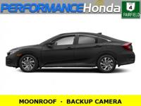 *EQUIPPED WITH:* MOONROOF, BACKUP CAMERA, ALLOY WHEELS,