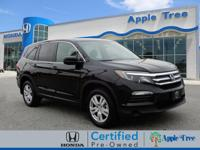 This Crystal Black Pearl 2018 Honda Pilot LX might be