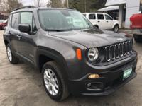 Recent Arrival! Crystal Metallic 2018 Jeep Renegade