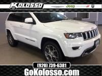 New Price! 2018 Jeep Grand Cherokee Bright White