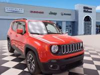 This 2018 Jeep Renegade 4dr Latitude FWD features a