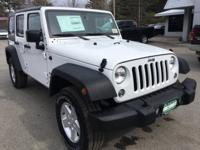 Recent Arrival! White 2018 Jeep Wrangler JK Unlimited