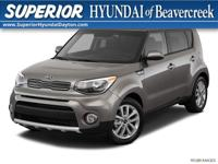 Recent Arrival! 2018 Kia Soul Plus Inferno Red