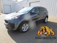 CARFAX One-Owner. Clean CARFAX. Blue 2018 Kia Sportage