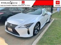 We are excited to offer this 2018 Lexus LC. When you