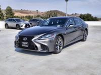 This 2018 Lexus LS LS 500 F Sport is offered to you for