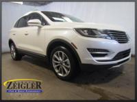 2018 Lincoln MKC Select White Platinum Clearcoat