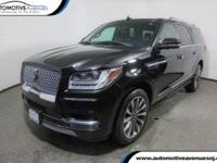 Just arrived is this roomy, NONSMOKER 2018 Lincoln