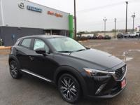 2018 Mazda CX-3 Grand Touring FWD 6-Speed Automatic Jet