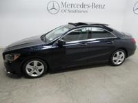 Blue Metallic 2018 Mercedes-Benz CLA CLA 250 4MATIC
