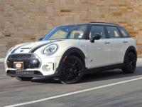 This 2018 MINI Coop-er S comes with AWD/all-wheel